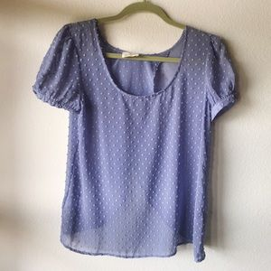 Lilac Textured Blouse